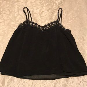 Honey Punch black swing camisole